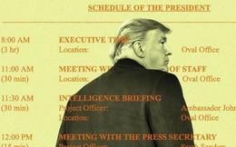 """Nhà Trắng dậy sóng vì những khoảng bí ẩn trong thời gian biểu """"khác người"""" của ông Trump"""