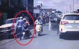 Truy tìm người đàn ông đi xế hộp đánh phụ nữ chở con nhỏ ngày mùng 1 Tết Kỷ Hợi