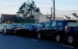Tai nạn liên hoàn giữa 5 xe con, đường lên Đà Lạt kẹt cứng