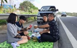 Tước bằng lái, phạt 5-6 triệu đồng với tài xế mở tiệc trên cao tốc Nội Bài - Lào Cai
