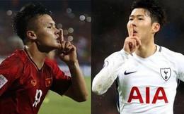 Cuộc tái đấu giữa Quang Hải và Son Heung-min bị hoãn vô thời hạn