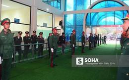 [Ảnh] Xe bọc thép xuất quân, ga Đồng Đăng trải thảm chờ đón Chủ tịch Kim Jong Un