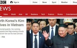 Báo chí quốc tế rầm rộ đưa tin về thượng đỉnh Mỹ - Triều diễn ra tại Hà Nội