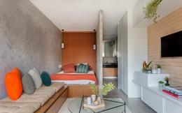 Căn hộ 27 m2 dù nhỏ vẫn đầy đủ tiện nghi và không gian riêng tư