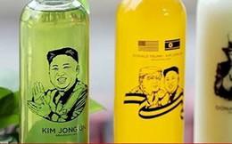 Quà lưu niệm ăn theo ông Donal Trump, Kim Jong Un rao bán rầm rộ trên mạng