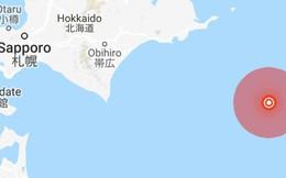 Động đất 6,2 độ tại Nhật Bản rung chuyển ngoài khơi bờ biển Hokkaido