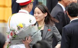 """Cận cảnh những """"bóng hồng"""" quyền lực trong đoàn Chủ tịch Kim Jong-un"""