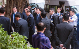 Thực đơn đặc biệt của phái đoàn Triều Tiên khi ăn trưa ở Hà Nội