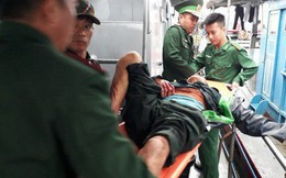 [NÓNG] Nổ bình gas trên tàu, 6 người bị thương nặng