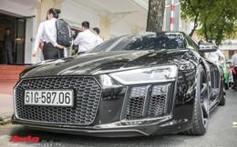 """Cường Đô La """"đổi màu"""" Audi R8 V10 Plus, tuy nhiên đây mới là điểm đáng chú ý"""