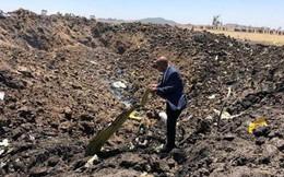 [NÓNG] Hình ảnh đầu tiên từ hiện trường vụ rơi máy bay thảm khốc ở Ethiopia: Tất cả đều cháy rụi