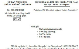 """TPHCM ra công văn khẩn, """"xóa"""" chợ tạm Cô Giang"""