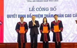 Tòa án nhân dân tối cao bổ nhiệm hàng loạt nhân sự chủ chốt