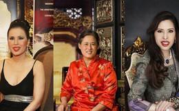 """3 nàng công chúa nổi tiếng Thái Lan: Nhan sắc ở mức """"thường thường bậc trung"""" nhưng ai cũng phải kiêng nể, đến cánh đàn ông cũng bái phục"""