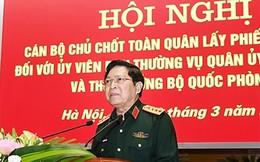 Lấy phiếu tín nhiệm các Ủy viên Thường vụ Quân ủy Trung ương và Thứ trưởng Quốc phòng