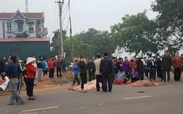 Clip ghi lại khoảnh khắc xe khách đâm đoàn đưa tang làm 7 người chết ở Vĩnh Phúc