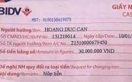 Chuyển công an vụ cựu Thanh tra Chính phủ lấy tiền dân