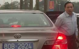 Xác minh thông tin xe chở Phó Bí thư Thường trực tỉnh Ninh Bình đeo 2 biển số xanh