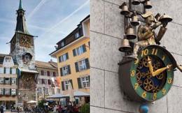 """Thị trấn Thụy Sĩ đẹp như tranh vẽ bị """"ám ảnh"""" với con số 11, đến đồng hồ công cộng cũng thiếu giờ thứ 12"""