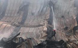 TP HCM: Thấy lửa sau đó là nhiều tiếng nổ, khu chợ tự phát náo loạn