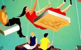 Thiên hạ sắm xe, mua nhà..., tôi cứ nói về sách và đọc sách, liệu có lạc lõng không?