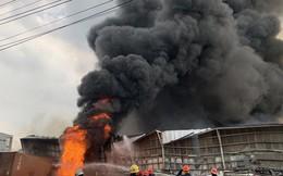 CLIP: Cháy dữ dội tại KCN Sóng Thần 2, giáp ranh TPHCM – Bình Dương