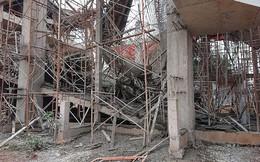Sập tòa nhà đang xây ở Đắk Lắk, nhiều người bị thương