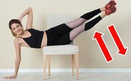 Bài tập 15 phút đánh bay mỡ bụng cho người quá bận, không thể tới phòng gym