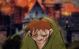 Người dân khắp thế giới đồng loạt chia sẻ những bức vẽ cầu nguyện cho Nhà thờ Đức Bà Paris sau vụ cháy