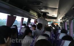 Chuyện khó tin có thật: Xe khách 45 chỗ 'tăng tải' chở 104 hành khách