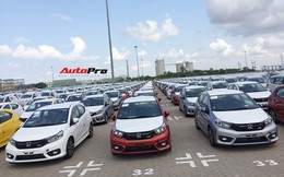 Lô gần 400 xe Honda Brio đổ bộ Việt Nam với một điểm độc đáo so với các xe phổ thông trên thị trường