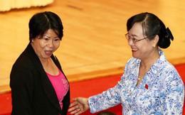 Nguyên Chủ tịch HĐND TP HCM Nguyễn Thị Quyết Tâm tiếp xúc cử tri quận 2