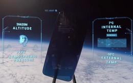 """Dẹp Apple và Samsung đi, smartphone """"chơi lớn"""" là phải bay lên vũ trụ bằng khinh khí cầu để chụp ảnh như này!"""