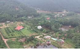 Hà Nội tiếp tục cưỡng chế công trình vi phạm trên đất rừng Sóc Sơn