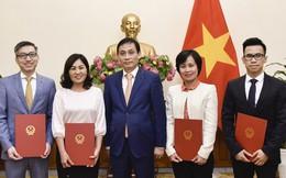 Điều động, bổ nhiệm nhiều nhân sự  Bộ Ngoại giao