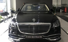 Mercedes-Maybach S650 2019 đầu tiên Việt Nam giá gần 15 tỷ đồng về tay đại gia miền Trung