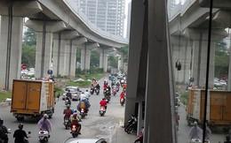 Cận cảnh một số tuyến phố chuẩn bị xén giải phân cách mở rộng lòng đường