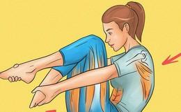 Sau một ngày làm việc mệt nhọc, dành ra 5 phút làm 1 trong các việc này bạn sẽ hết đau lưng rất nhanh