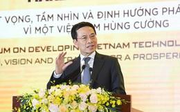 """Bộ trưởng Nguyễn Mạnh Hùng kể câu chuyện Yeah1 và nhắn nhủ: Doanh nghiệp ICT nếu gặp khó, """"cứ tìm"""" tới Bộ Thông tin và Truyền thông"""