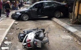 Hé lộ danh tính chủ nhân chiếc xe Camry đi lùi tông chết người phụ nữ trung niên đi xe máy