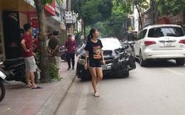 """Danh tính 2 mẹ con bị xe ô tô """"điên"""" đâm trúng ở Hà Nội"""