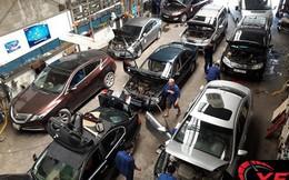 Nóng 60 độ, Lexus, BMW, Mercedes xếp hàng đi sửa điều hòa