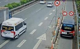 Vì sao hơn 100 ô tô lấn làn xe gắn máy cao tốc Long Thành chưa bị xử lý?