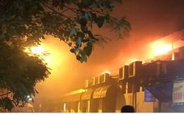Hà Nội: Cháy quán bia Hải Xồm, nhiều người hoảng loạn tháo chạy