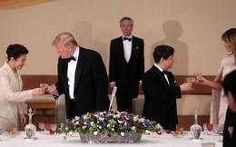 Nhật hoàng mở quốc yến chiêu đãi Tổng thống Trump