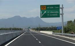 Một phần cao tốc Đà Nẵng - Quảng Ngãi chưa được thu phí