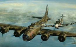 Thấy máy bay của địch bốc khói, phi công Đức bám theo và làm 1 việc không ai có thể ngờ