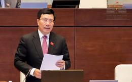 TRỰC TIẾP: Quốc hội chất vấn Phó Thủ tướng Chính phủ Phạm Bình Minh