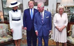 """Bà Camilla Parker, người bị ghét nhất hoàng gia Anh, bỗng nổi như cồn chỉ sau một đêm nhờ cái """"nháy mắt"""" thần thánh khi gặp vợ chồng Tổng thống Trump"""