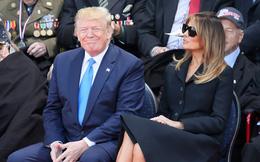 Vợ chồng Tổng thống Donald Trump: Chung khung hình nhưng hai số phận, người được khen hài hước, người thì bị chỉ trích vì chi tiết này